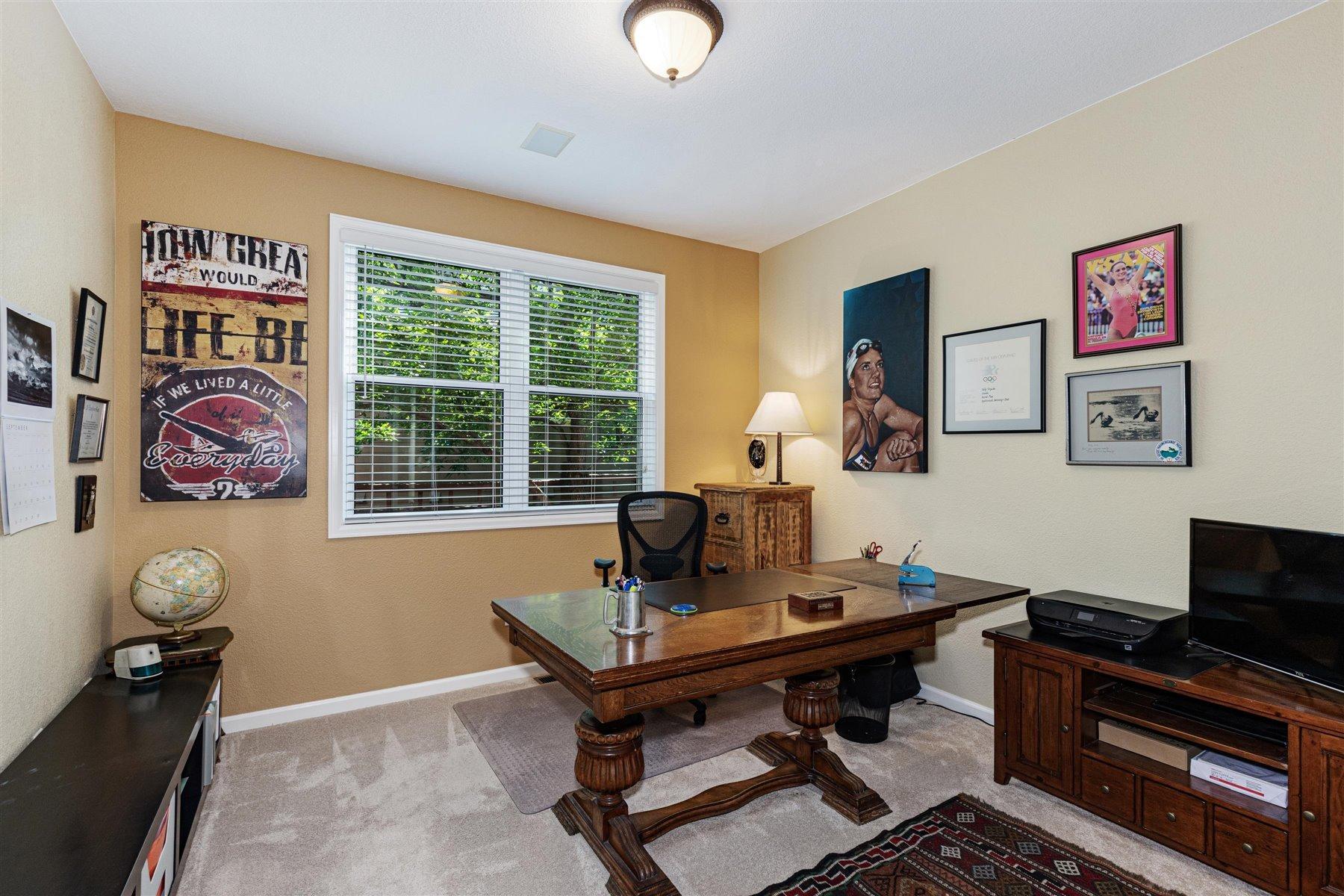 Main Floor Study/Den Flex Space