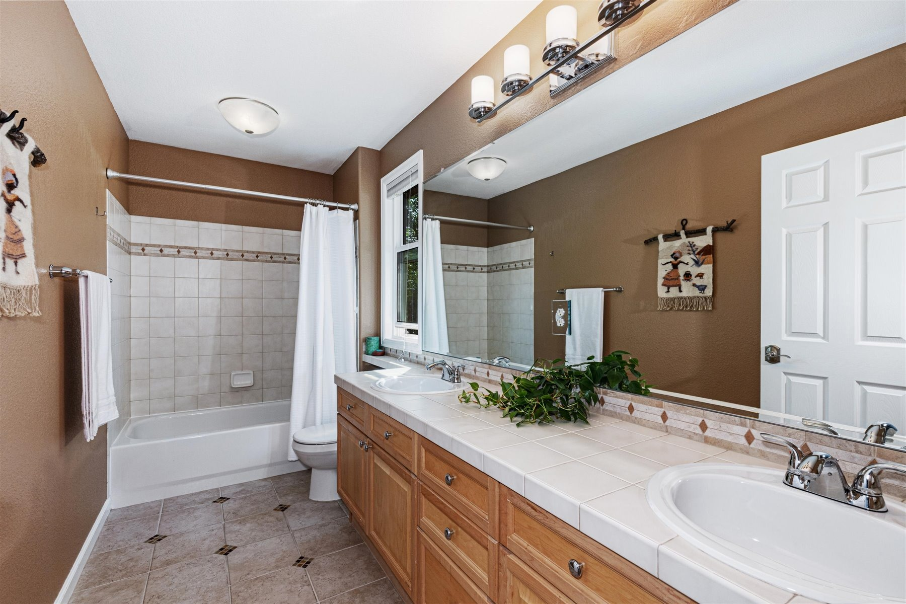 Full Hall Bath Shared by Bedrooms #3 & 4