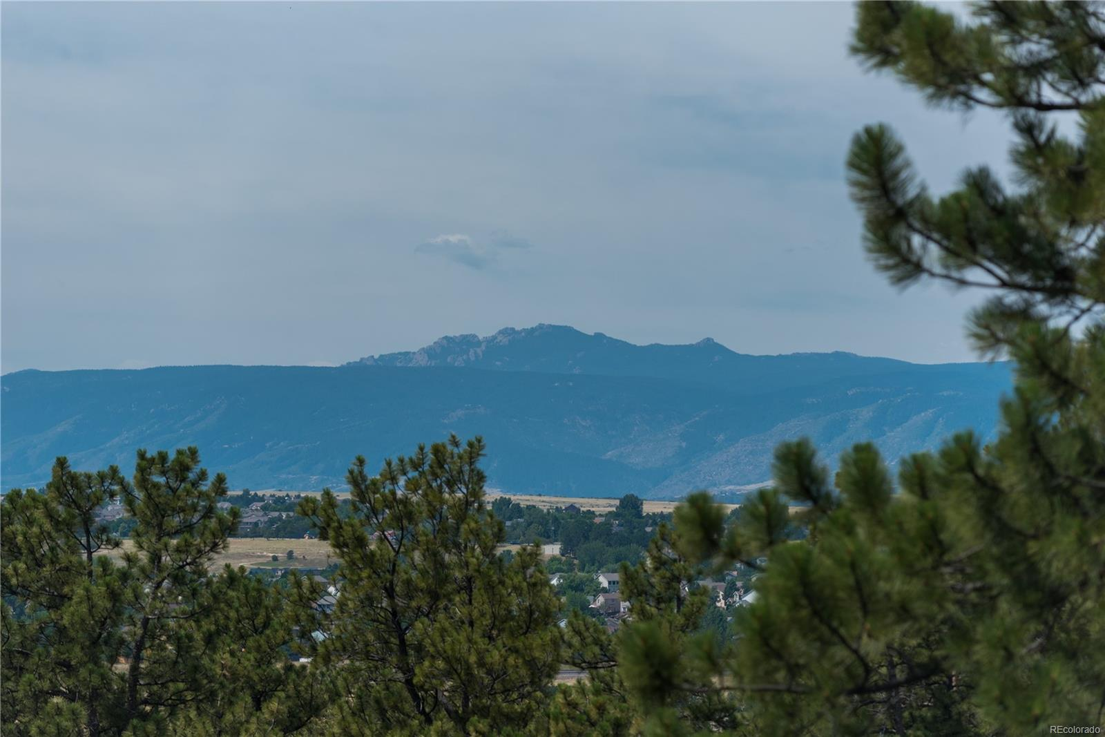Mountain Views directly from Lot
