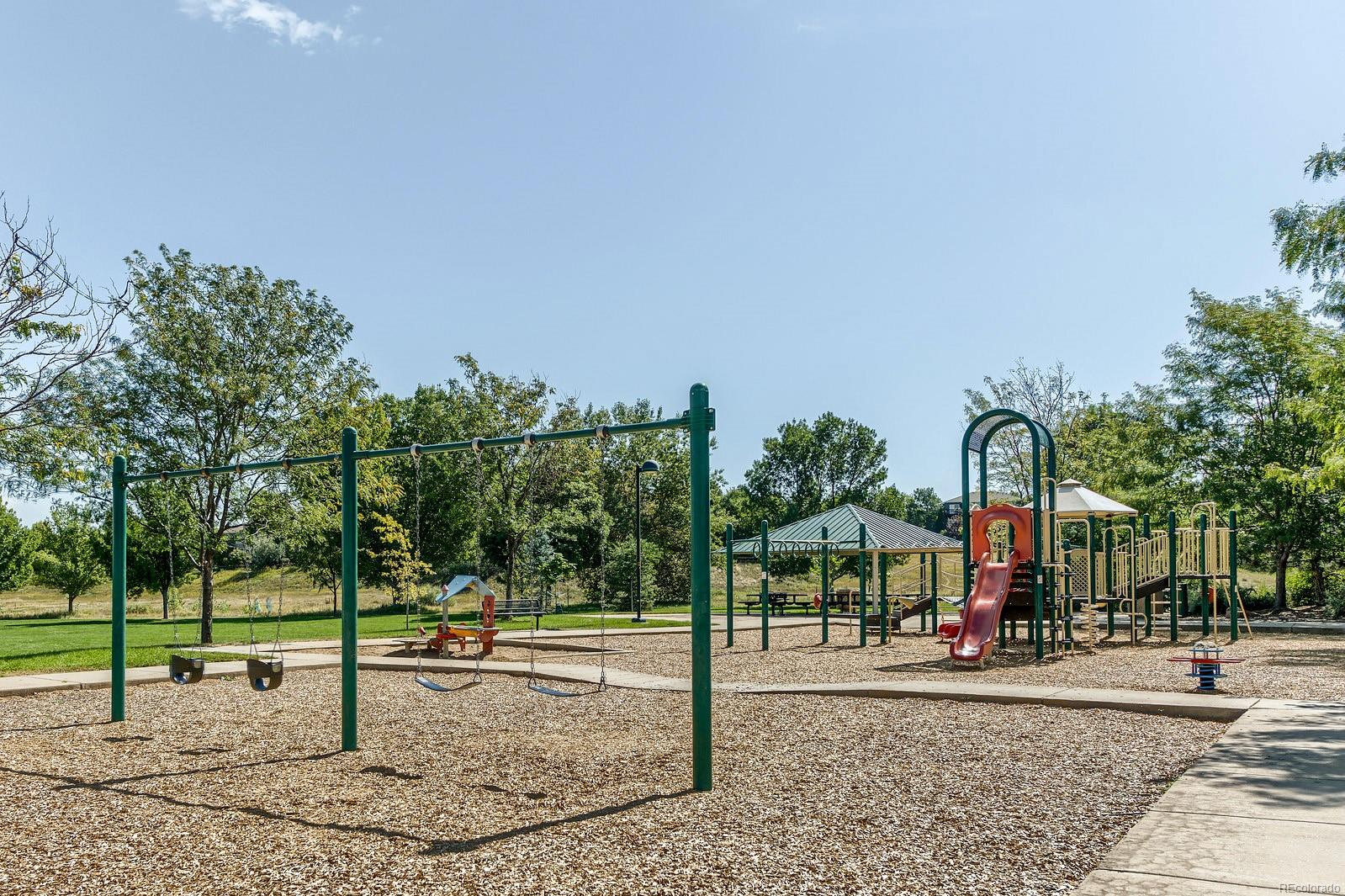 Beautiful park is walking distance to home.