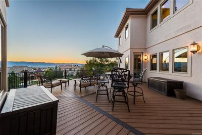 Newly extended deck for soaking up the amazing views.