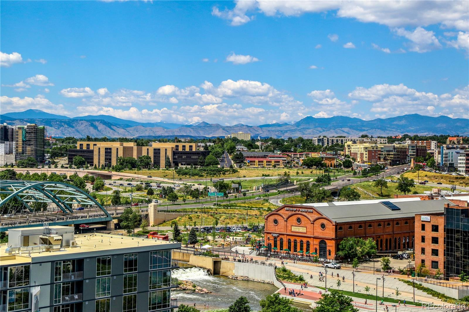 Enjoy a stroll around the park and soak up the Colorado sunshine.