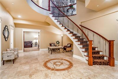 Lower level foyer welcomes you to the lower level and is great for entertaining.