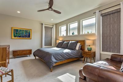 Stunning Master Suite with Hunter Douglas Roller Shades