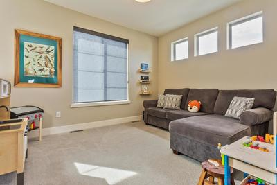 Currently a loft but Seller offering credit if Buyer wants it to be a 3rd Bedroo