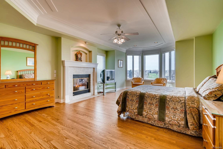 Main level master bedroom suite