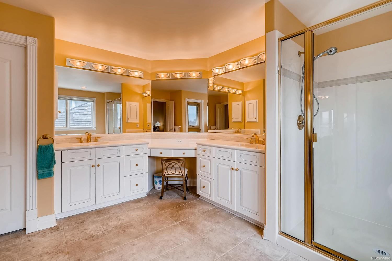Upper level master bathroom