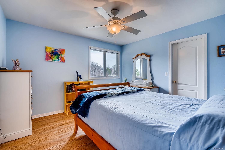 Upper level secondary bedroom