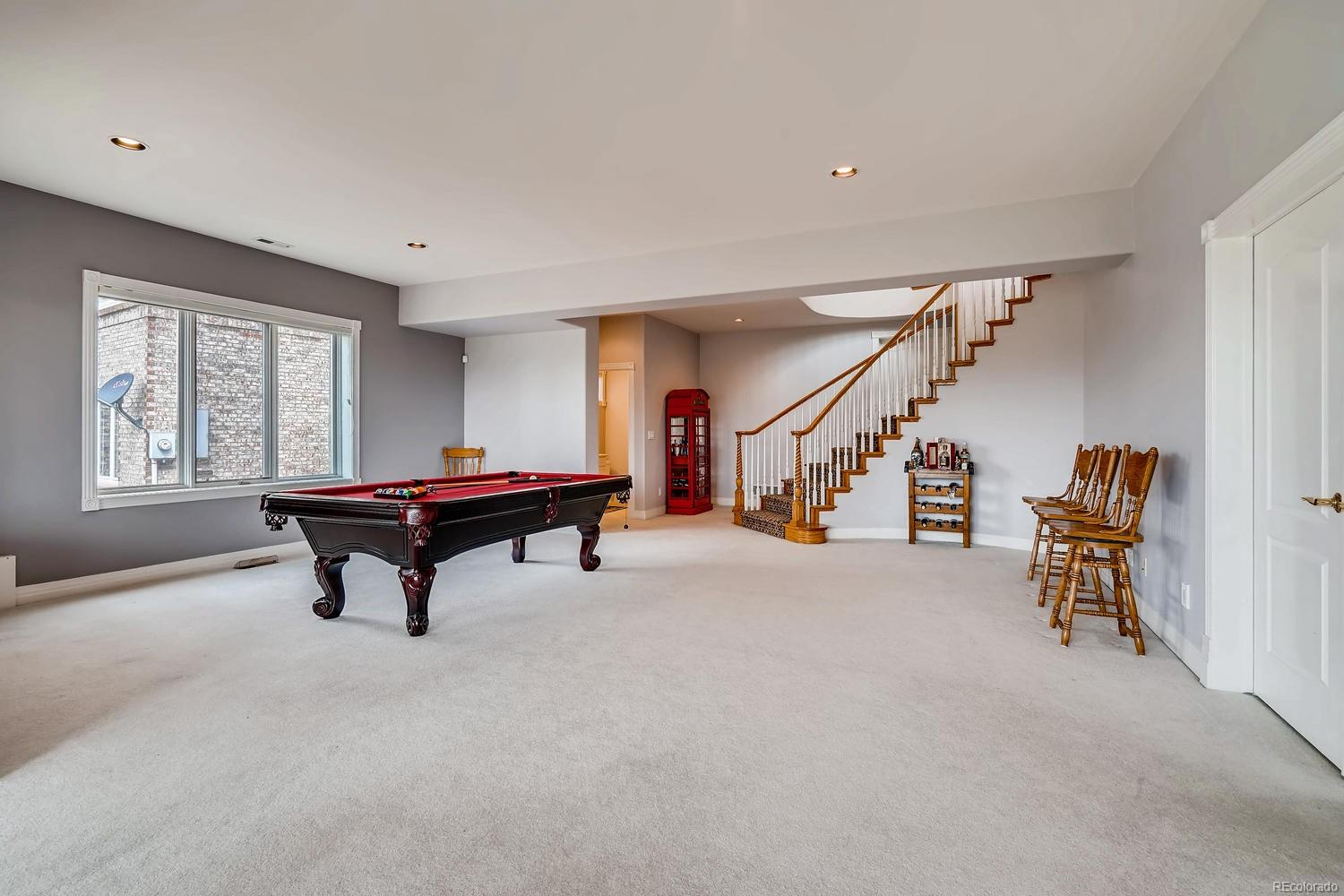 Walkout basement
