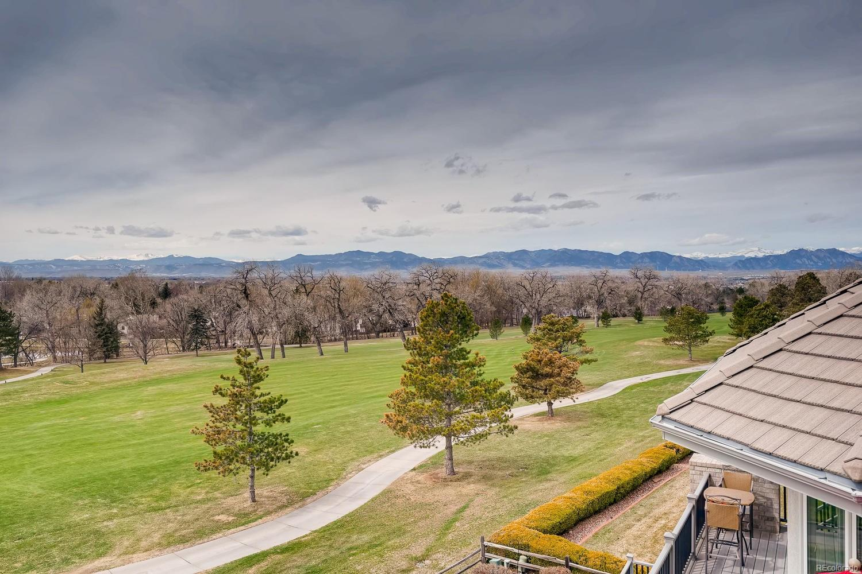 Golf course/mountain view