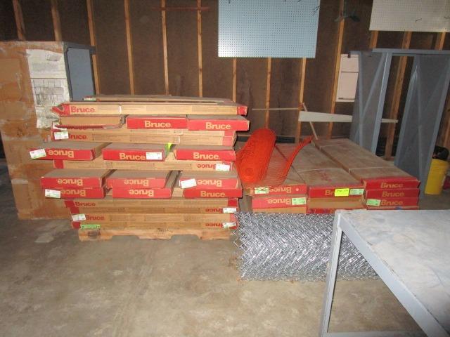 Prefinished hardwood ready to install