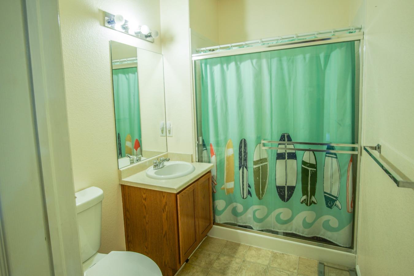 3/4 guest bathroom