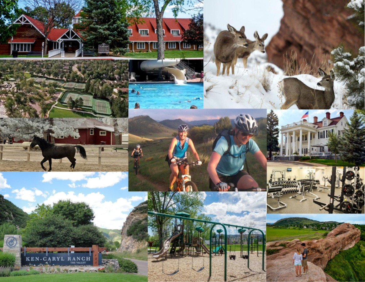 Collage of life at Ken-Caryl Ranch and Valley