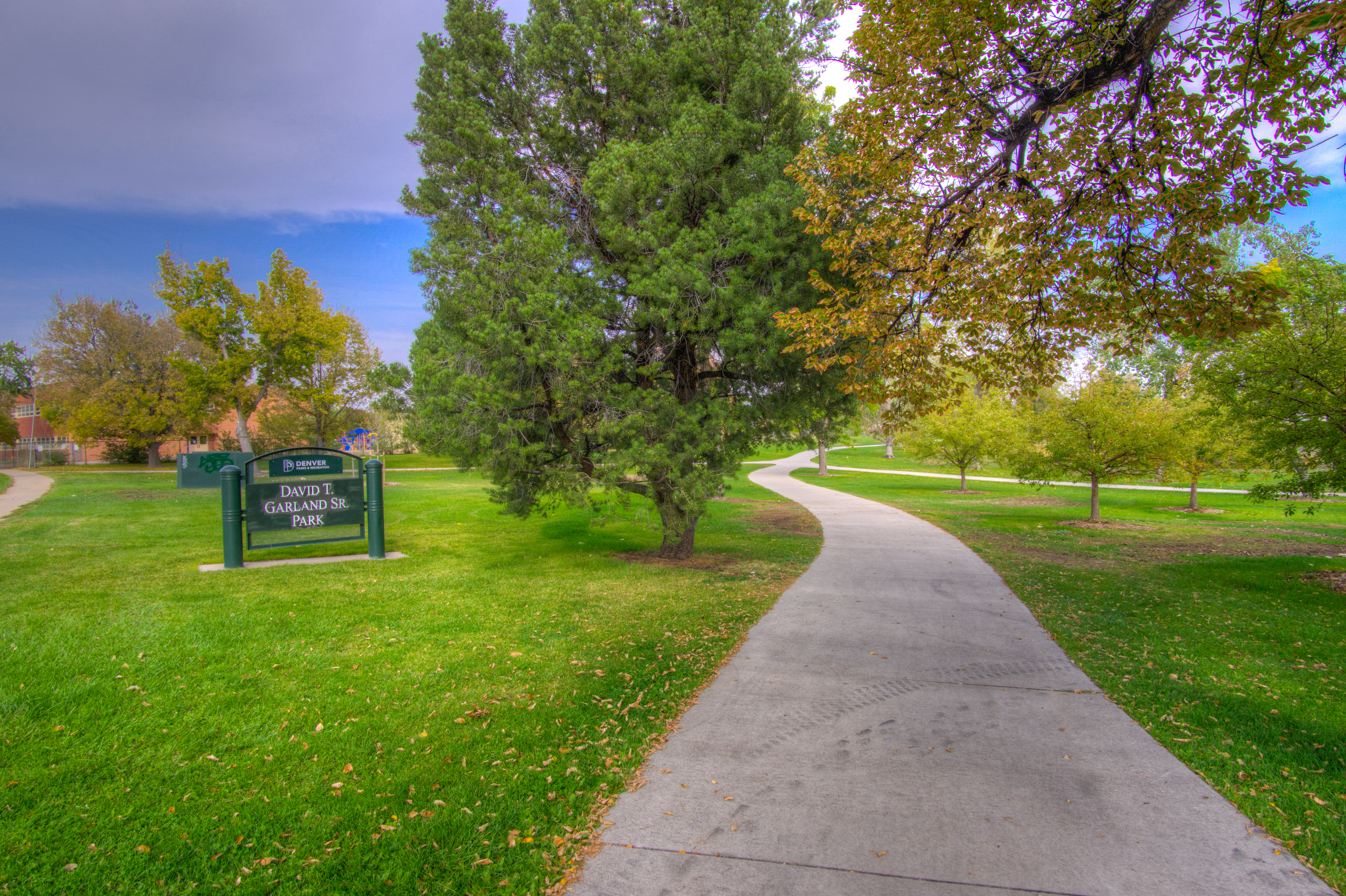 Beautiful Garland Park is in your backyard!