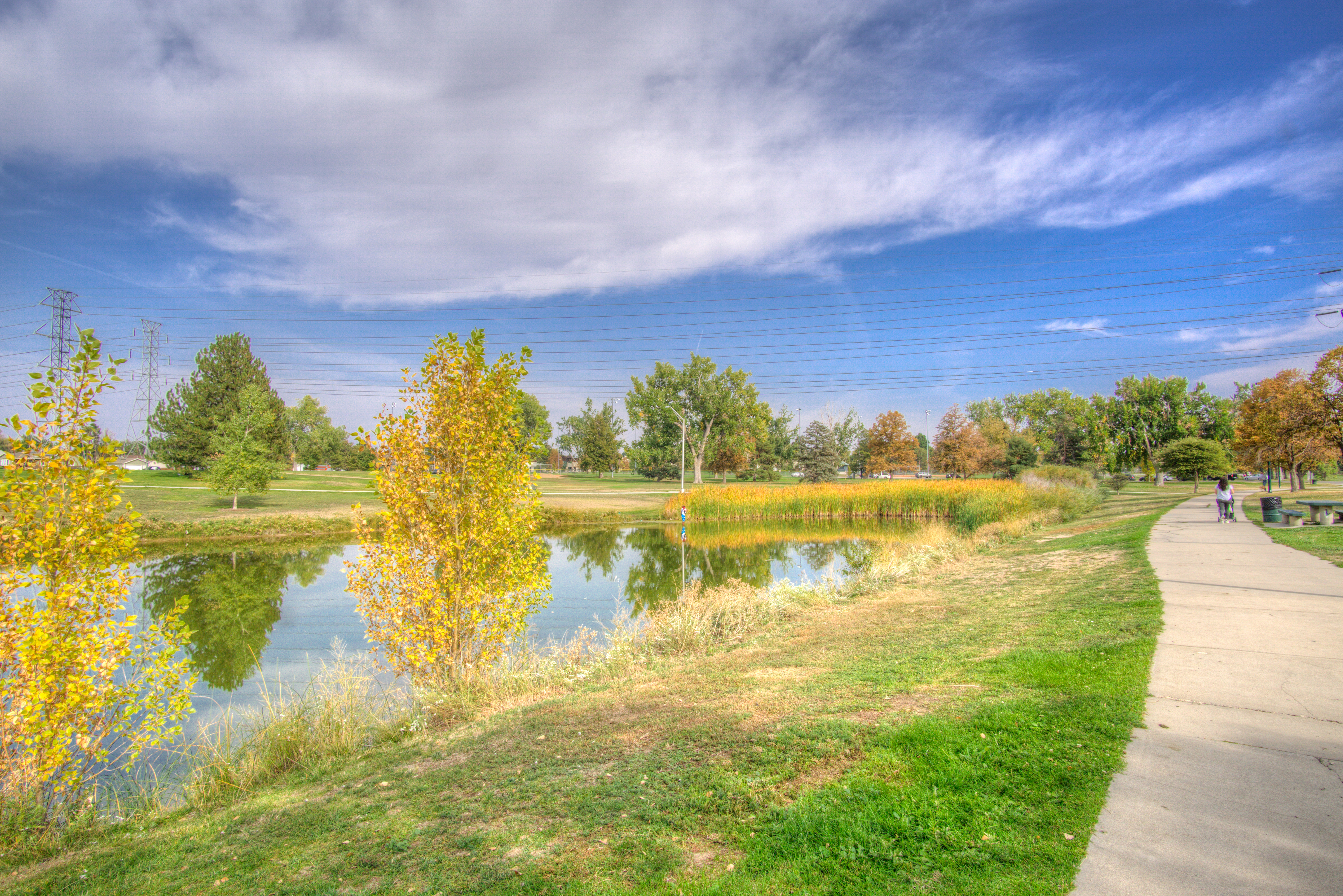 Cherry Creek bike path is minutes away