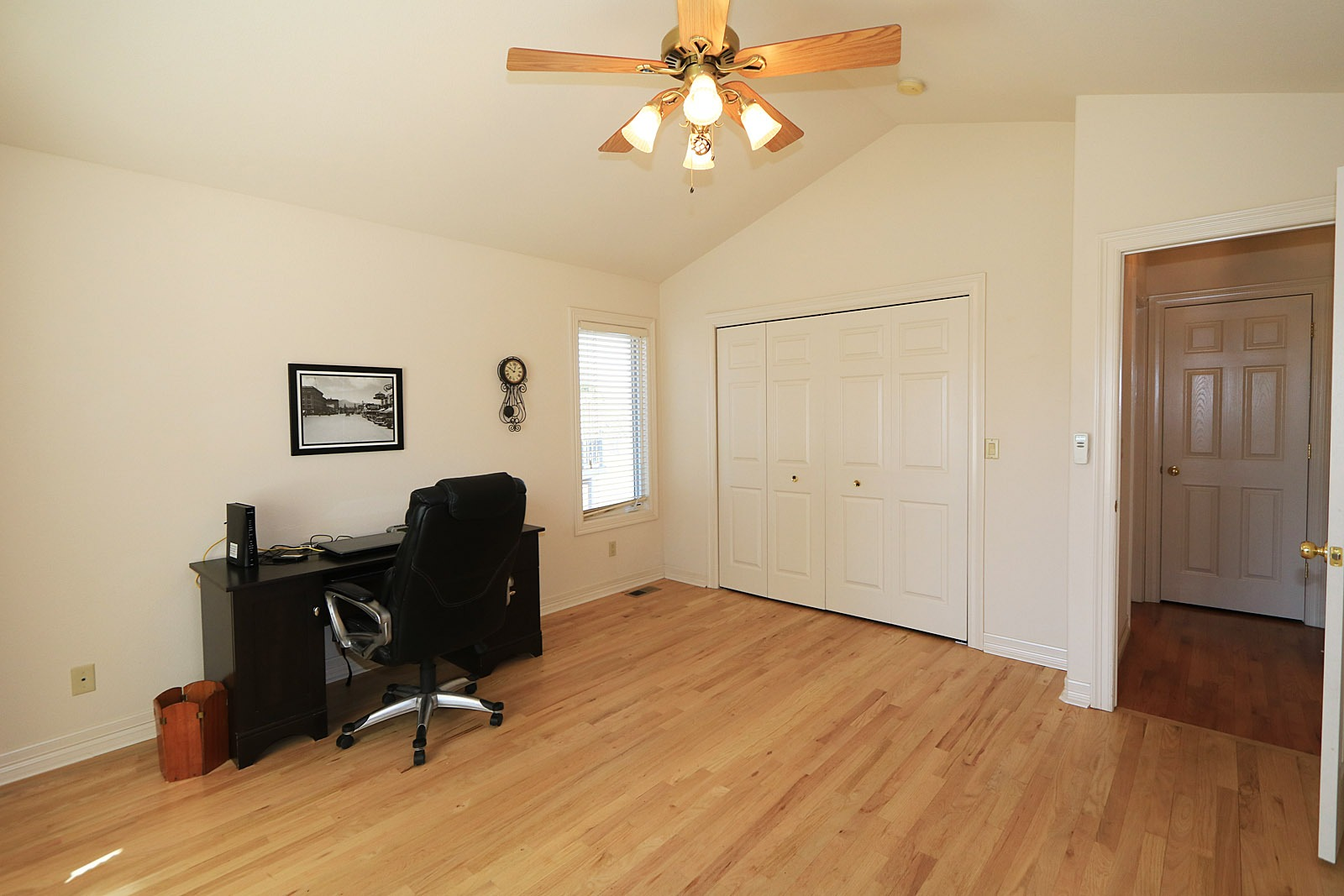 13' X 12' main floor study