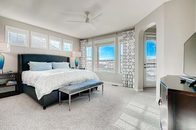 Stunning Master Suite offers great light and a feeling of serenity to open space