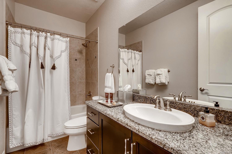 Lower Level full bath for secondary bedrooms and rec/bonus room entertaining