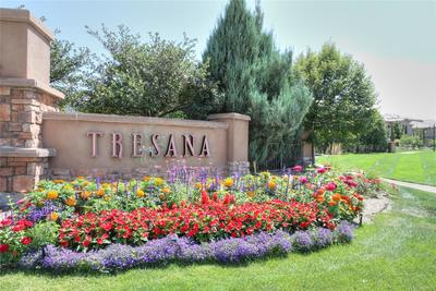 One of two easy entrances into Tresana Community