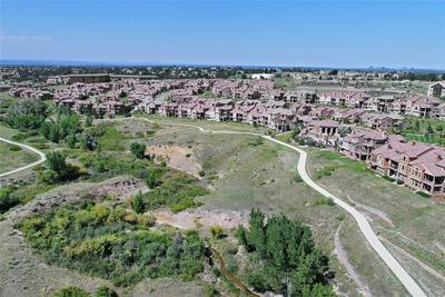 Highlands Ranch Metro District Trail System is just outside Tresana's back door!