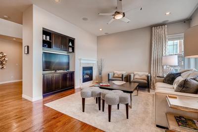Beautiful Hardwood Flooring throughout most of main floor living. Upgraded Built