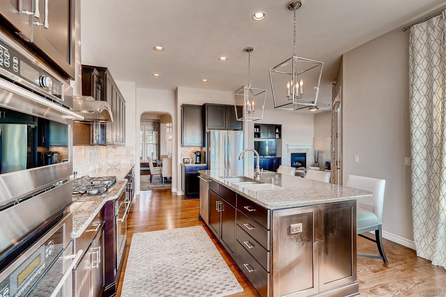 Easy to host a family dinner in Dining Room with quick access to Kitchen
