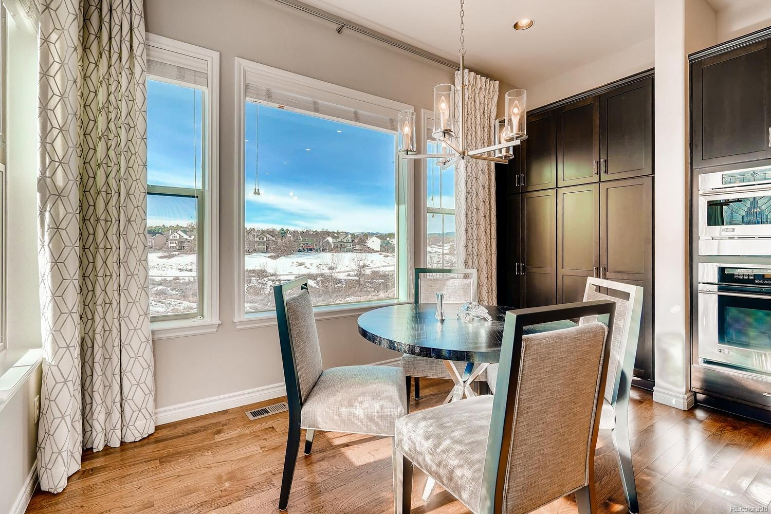 Morning Coffee never looked so good! Notable Pantry with ample storage space and