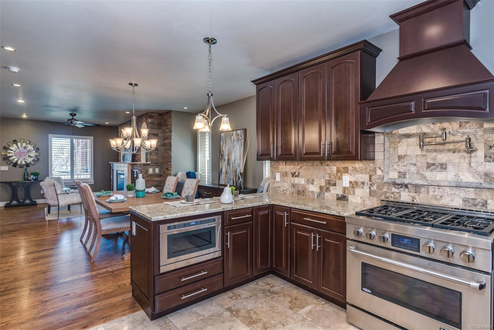 THE NEW KITCHEN IS DESIGNED WITH THE GOURMET COOK IN MIND!