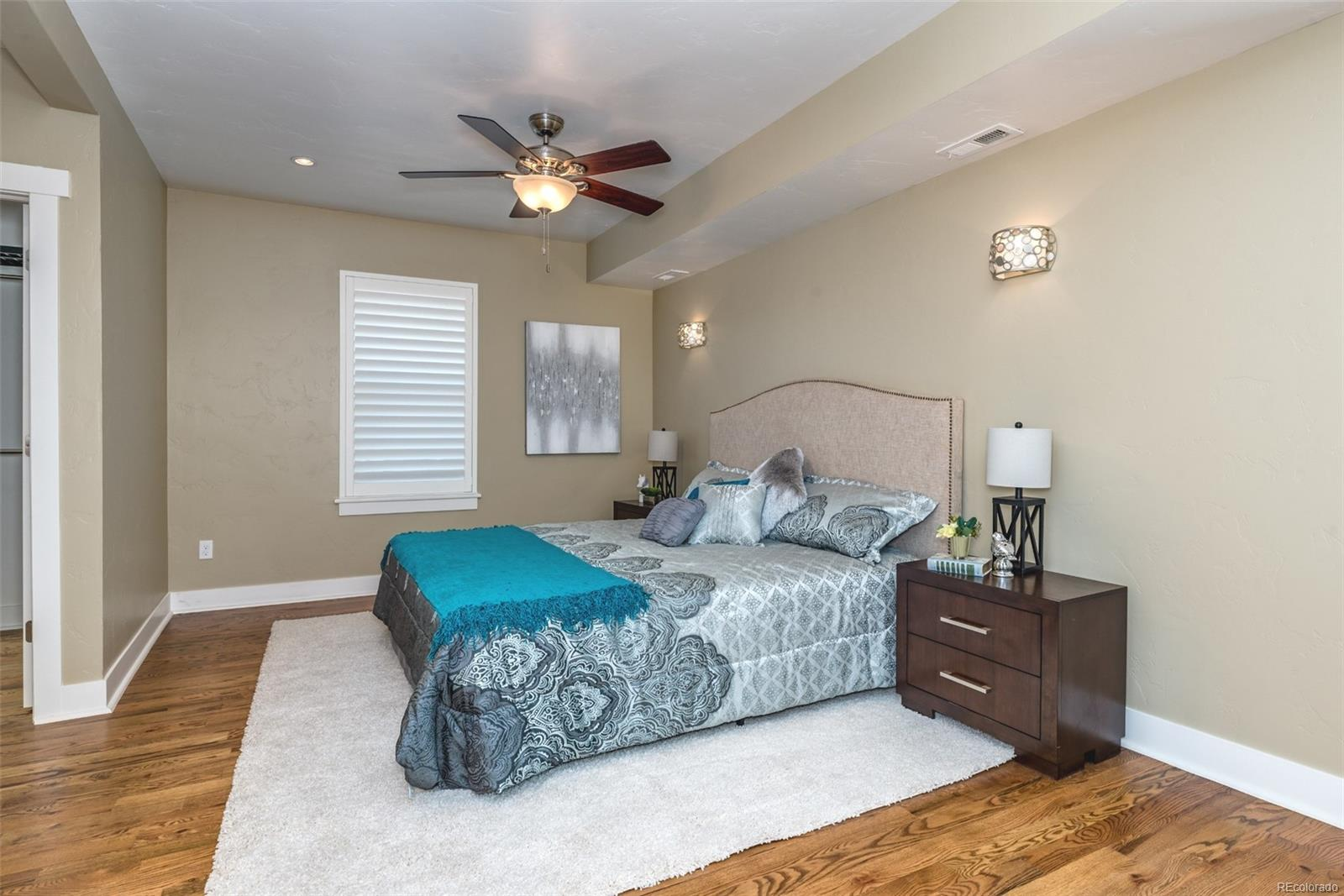 SPACIOUS UPPER LEVEL MASTER BEDROOM!