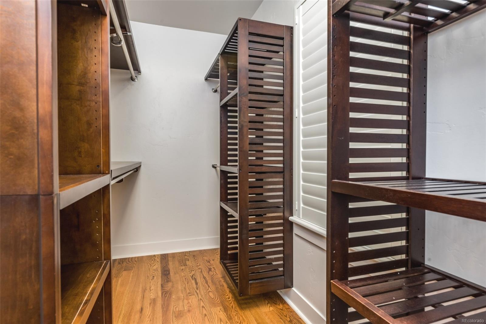 LOTS OF ROOM IN THE MASTER BEDROOM WALK-IN CLOSET!