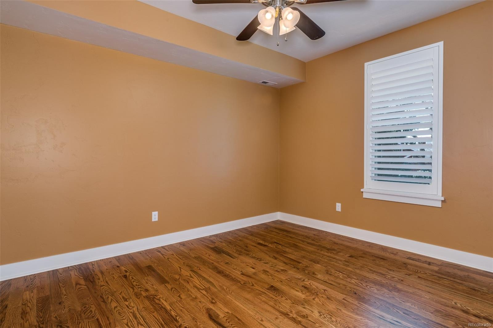 UPPER LEVEL BEDROOM #3 WITH CEILING FAN!