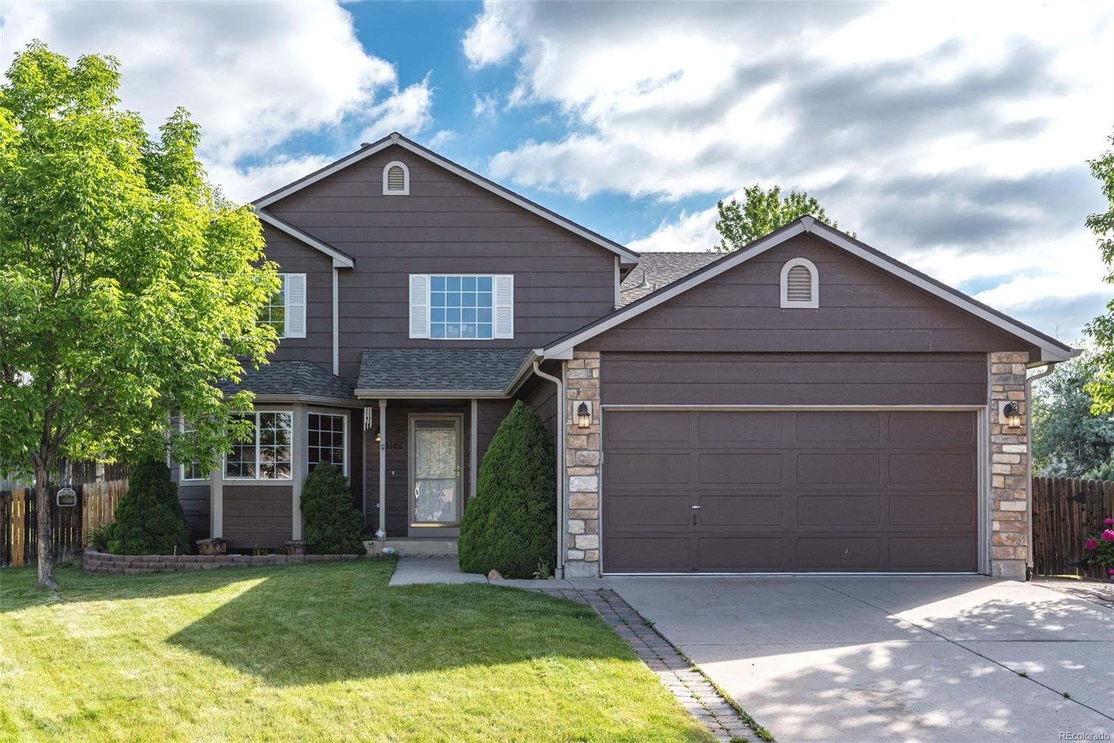 Welcome home to 5166 S. Routt Court in desirable Sunrise Creek!