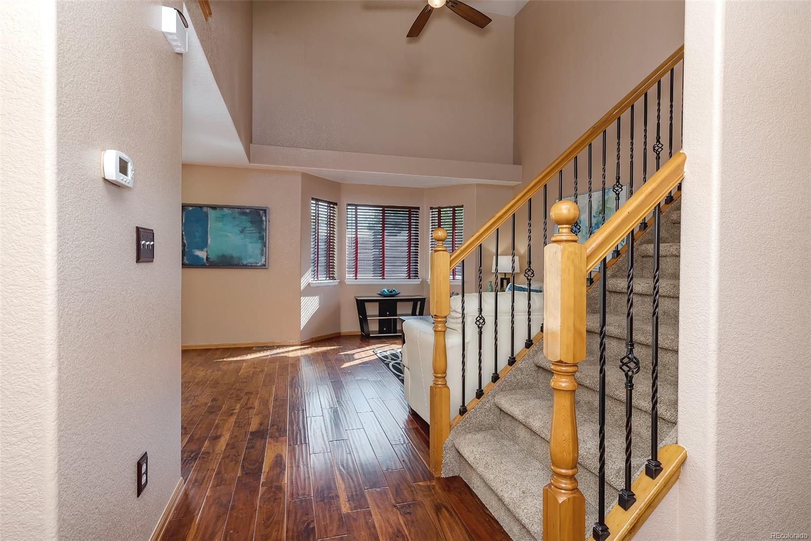 Newer flooring & stairway balusters!