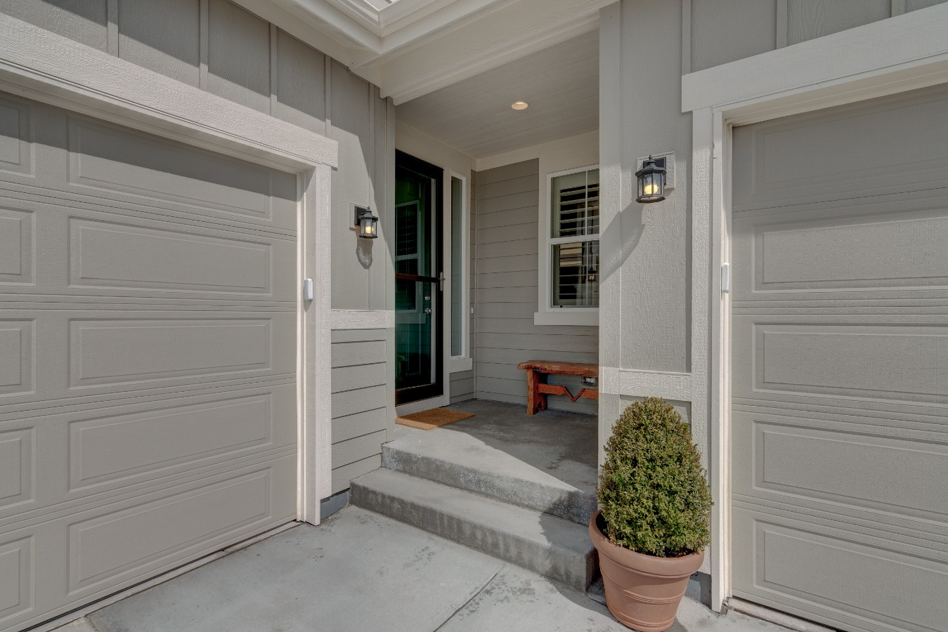 Covered Front Entry