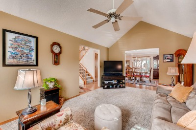 Spacious Family Room Designed For Informal Gatheri
