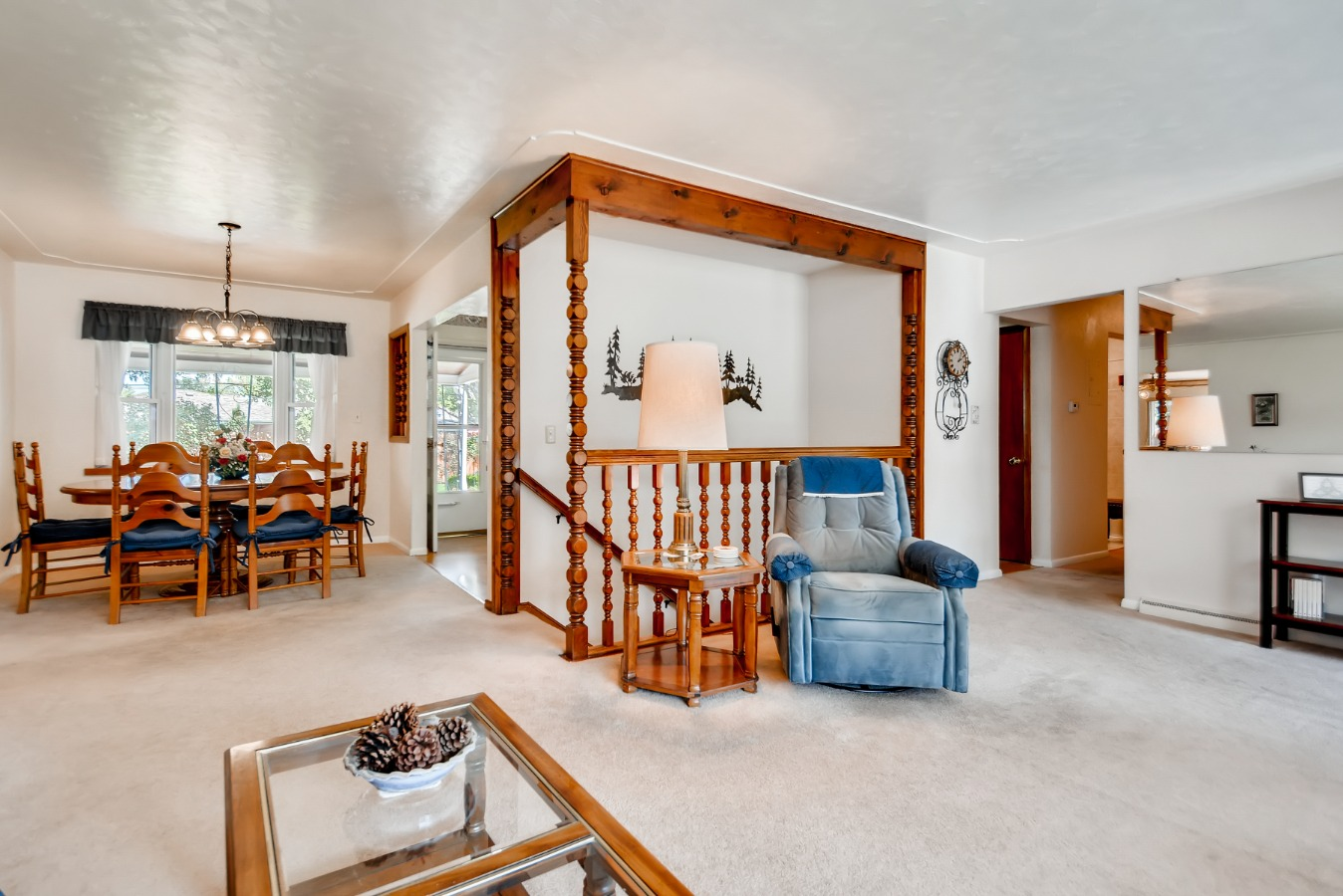 Dining Room – Living Room Arrangements