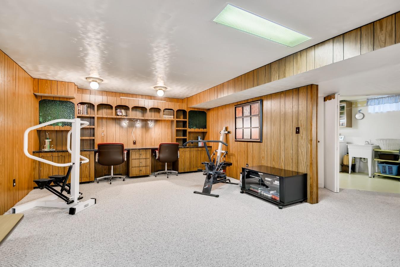 Basement Rec Room! Everyone Can Live A Little!