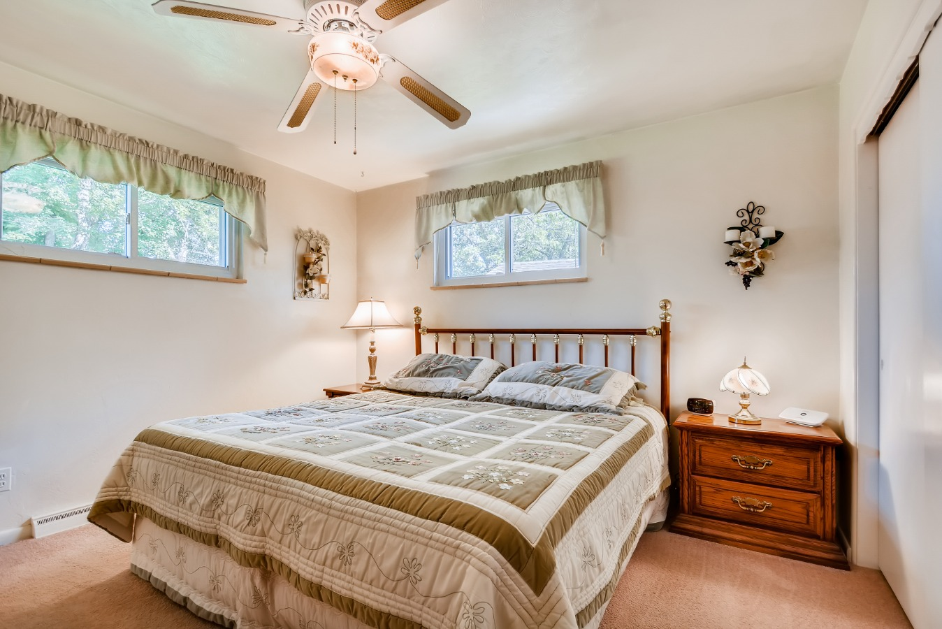Master Suite offers Private for Peace & Quiet