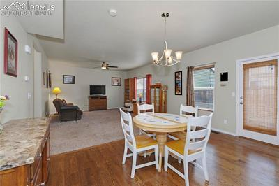 Hardwood In Kitchen And Dining Areas