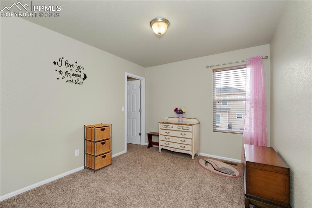 Upper Level Third Bedroom With Walk In Closet