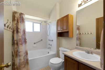 Soaking Tub In The Upper Level Bath