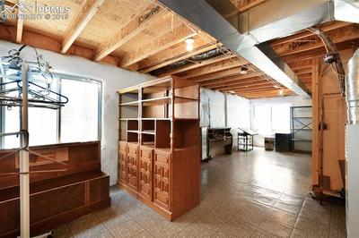 Plenty Of Storage In The Unfinished Basement