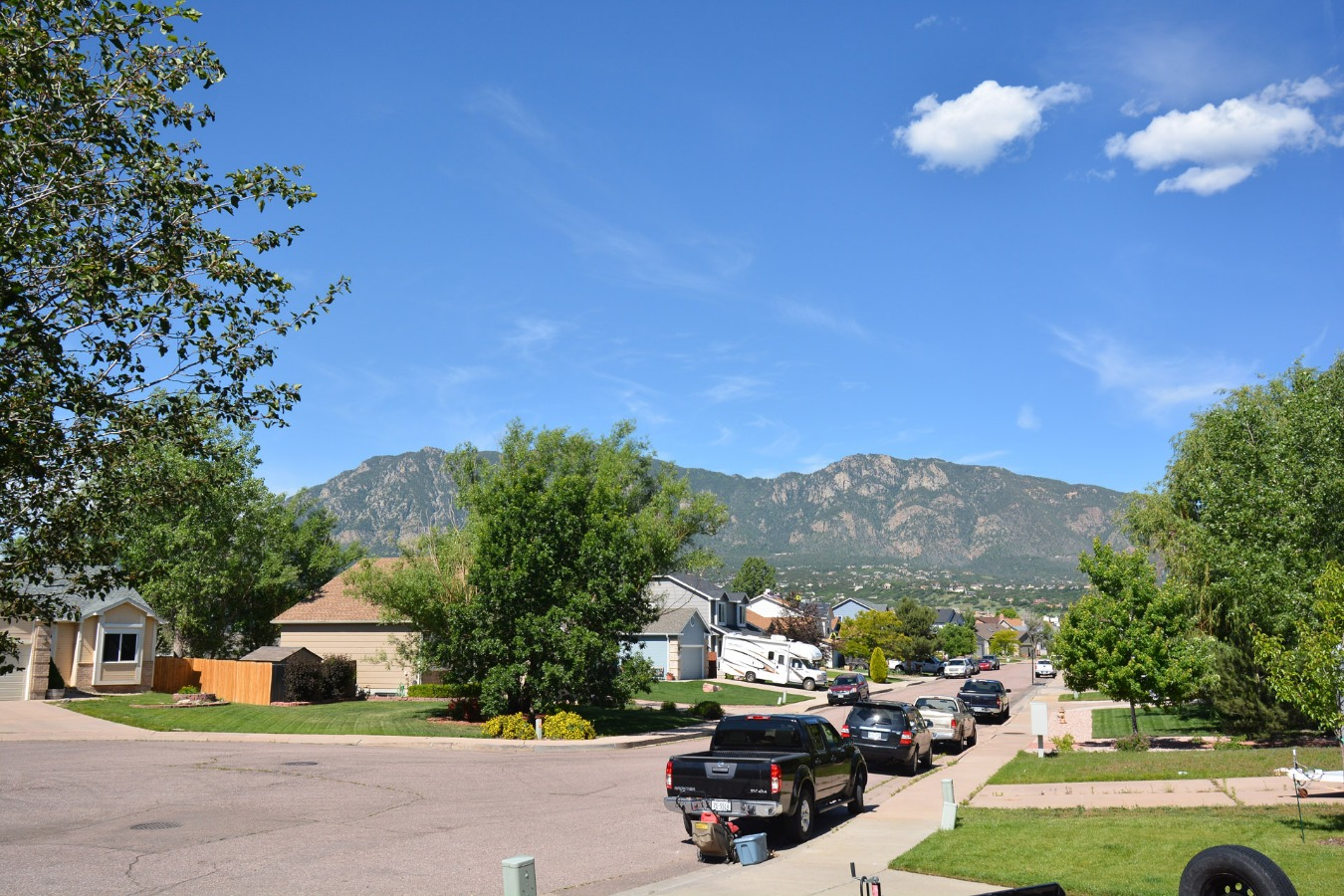 View out Front Door