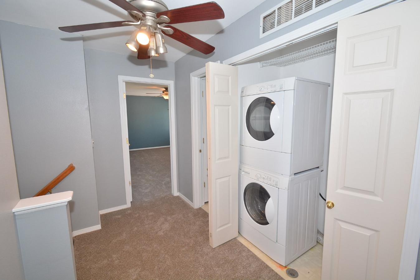 Laundry Room Area Upper Level