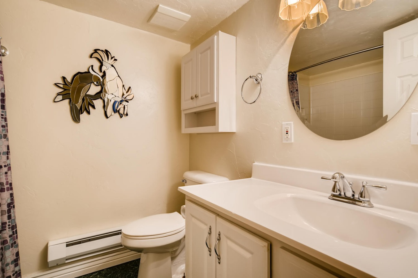 Bathroom in basement