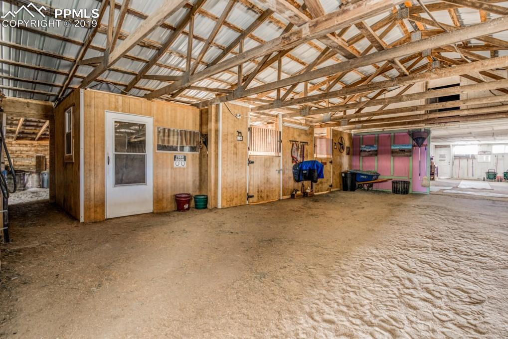 Secure tack room/office.