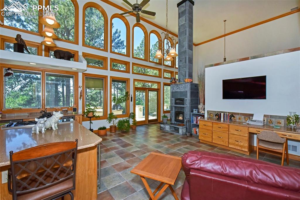 2 Story Eat In Kitchen, A Natural Gathering Place