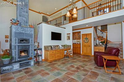 Soap Stone Fireplace w/Pizza Oven