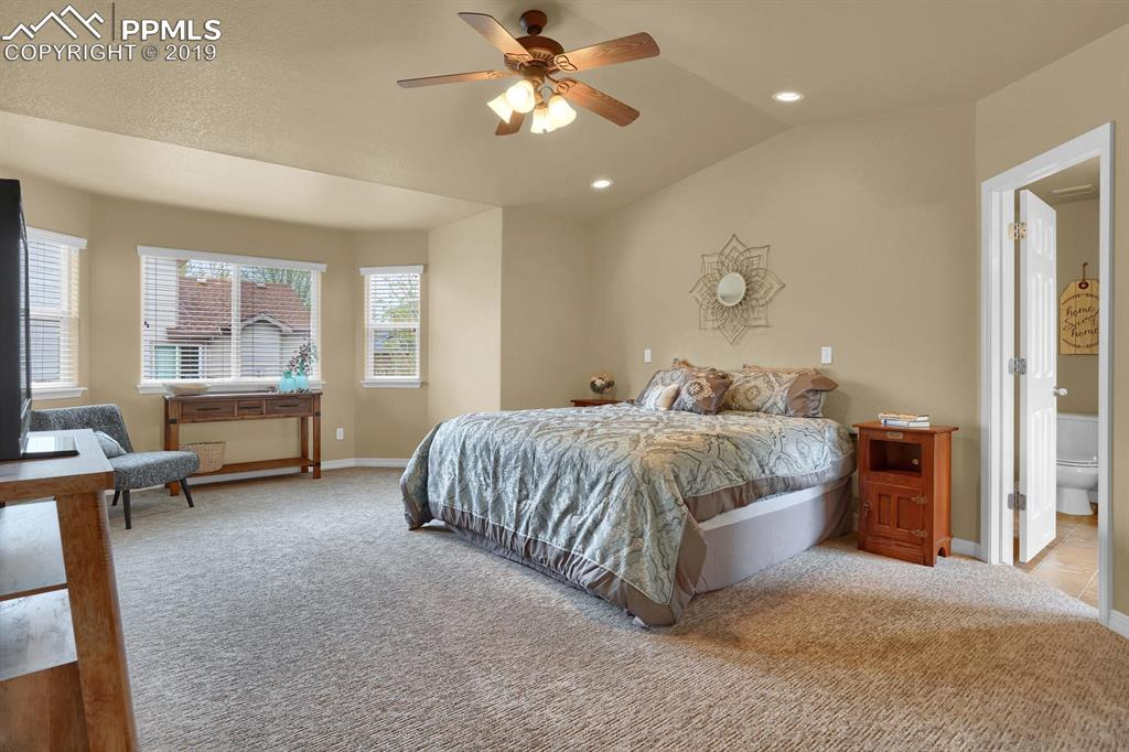 Nice size master suite