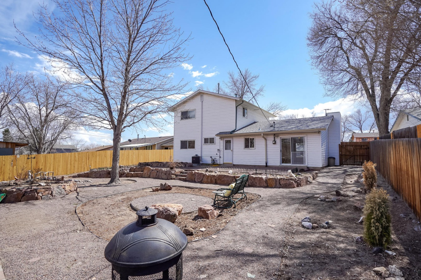 Fenced Backyard with Room to Roam